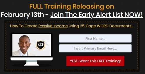 Passive income online business
